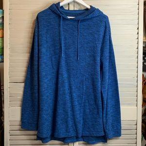 Original Use Size Medium Blue Thermal Hoodie